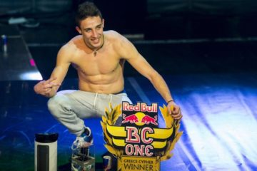 competes during Red Bull BC One Greece Cypher in Athens, Greece on March 21, 2015