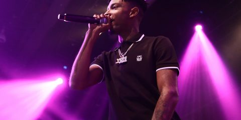 NEW YORK, NY - NOVEMBER 04:  21 Savage performs during Metro Booming In Concert at PlayStation Theater on November 4, 2016 in New York City.  (Photo by Johnny Nunez/WireImage)